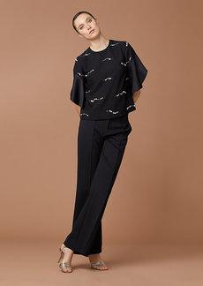 Diane Von Furstenberg Suzette Sequin Top