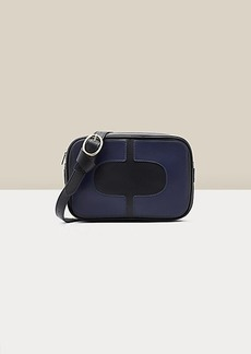 Diane Von Furstenberg Chainlink Leather Crossbody Camera Bag