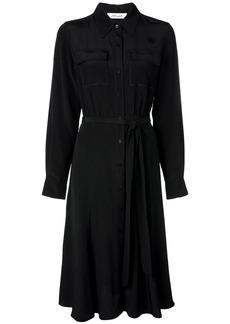 Diane Von Furstenberg chest pocket shirt dress