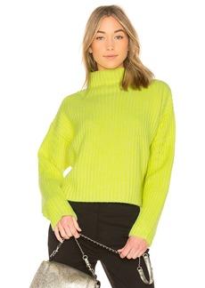 Diane Von Furstenberg Chunky Ribbed Pullover