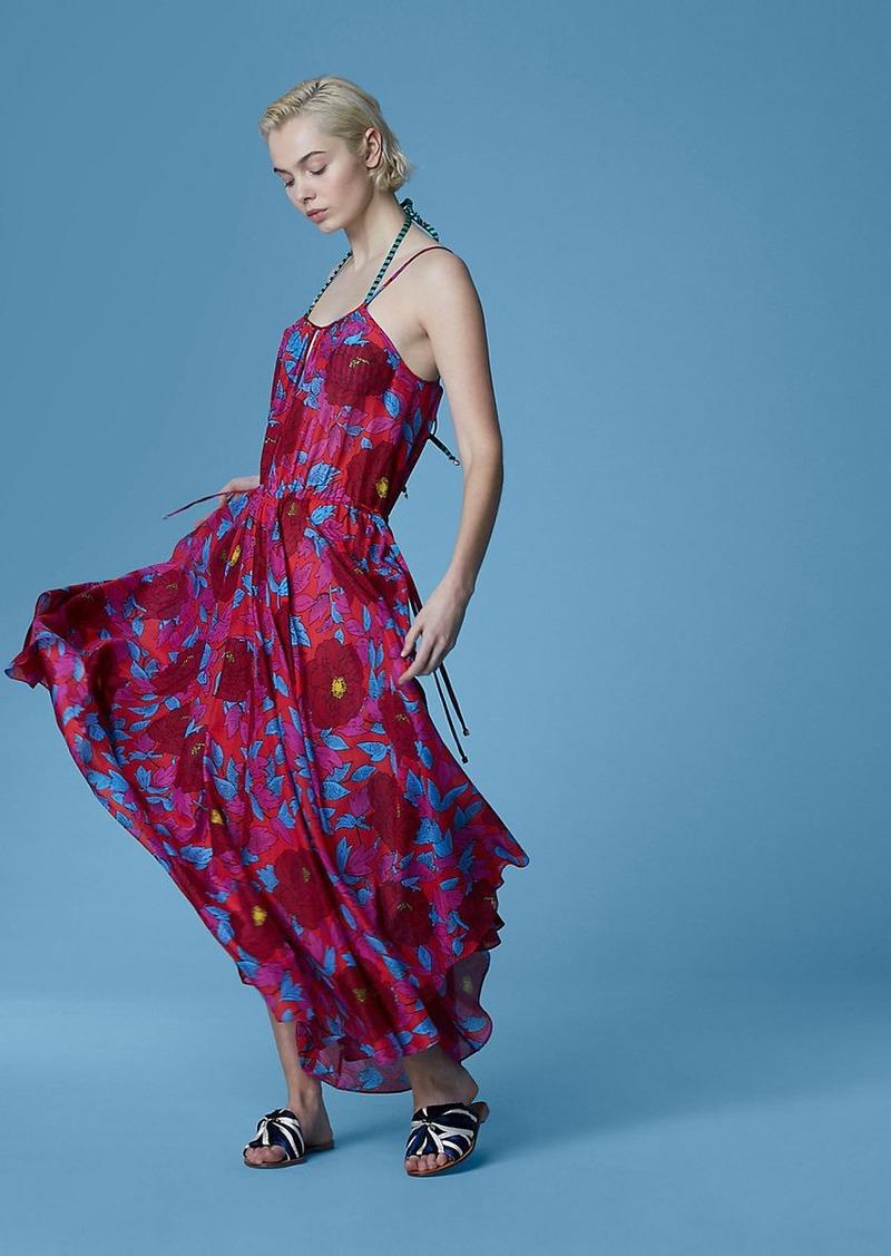67901a4e5cf SALE! Diane Von Furstenberg Cinch Waist Maxi Dress