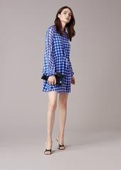 Diane Von Furstenberg Cinch Waist Mini Dress