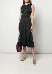 Diane Von Furstenberg Clemintine moire A-line dress