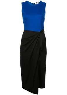 Diane Von Furstenberg colour block sheath dress