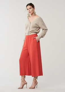 Diane Von Furstenberg Cornelia Wide-Leg Cropped Pants