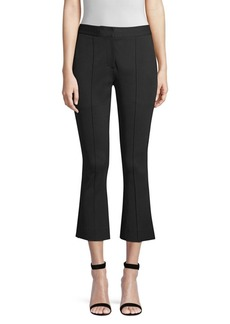 Diane Von Furstenberg Crop Flare Pants