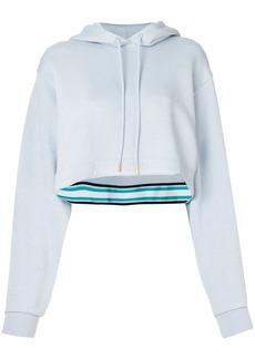 Diane Von Furstenberg cropped boxy hoodie