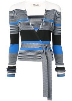 Diane Von Furstenberg cropped wrap cardigan