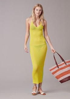 Cross Back Knit Dress