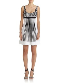 Diane Von Furstenberg Daisy Wool & Silk Dress