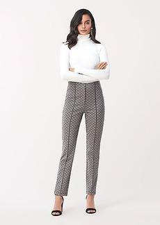 Diane Von Furstenberg Dakota Knit Jacquard Slim-Leg Pant