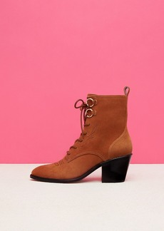Diane Von Furstenberg Dakota Lace-Up Boots
