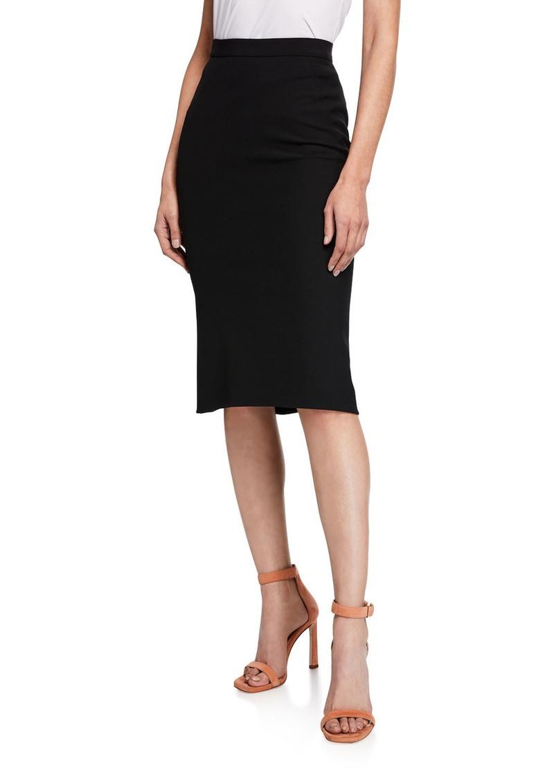 Diane Von Furstenberg Darcey High-Waist Midi Skirt
