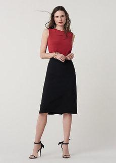 Diane Von Furstenberg Darcey Midi Skirt