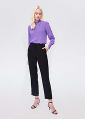 Diane Von Furstenberg Darcy Silk Crepe De Chine Shirt