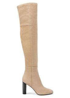 Diane Von Furstenberg Deana Over-The-Knee Suede Boots