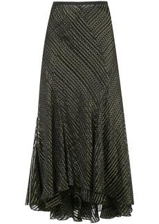 Diane Von Furstenberg Debra crinkle skirt