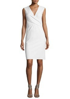 Diane von Furstenberg Leora Sleeveless Crepe Sheath Dress
