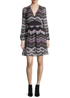Diane von Furstenberg Lizbeth Printed Silk Dress