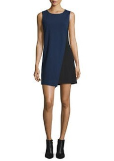 Diane von Furstenberg Livvy Asymmetric Colorblock Dress