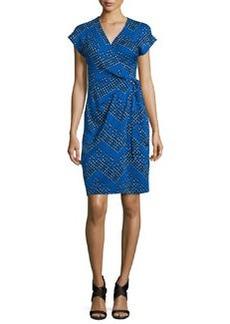 Diane von Furstenberg Sascha Dot-Print Wrap Dress
