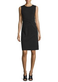 Diane von Furstenberg Evita Sleeveless Crepe Sheath Dress