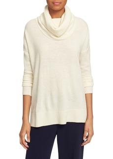 Diane von Furstenberg 'Ahiga Slim 2' Wool & Cashmere Cowl Neck Sweater