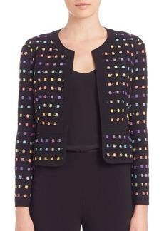 Diane von Furstenberg Alberta Tweed Jacket