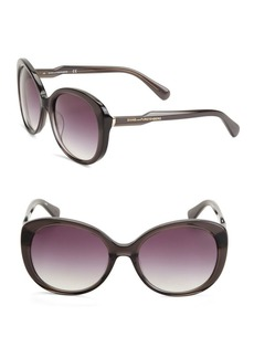 Diane von Furstenberg Alice 57MM Oval Sunglasses