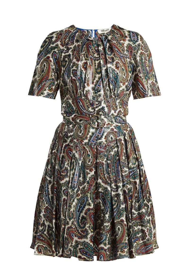 Diane Von Furstenberg Ana paisley-print silk-blend dress