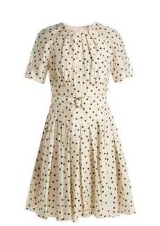 Diane Von Furstenberg Ana polka dot-print silk dress