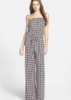 Diane von Furstenberg 'Ani' Print Silk Jumpsuit
