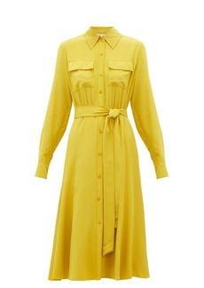 Diane Von Furstenberg Antonette silk-crepe de Chine shirtdress