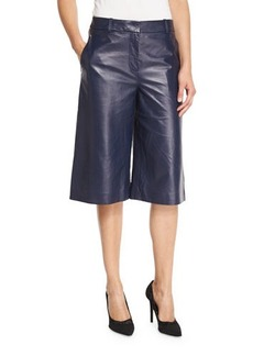 Diane von Furstenberg Asheton Leather Culotte Pants