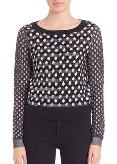 Diane von Furstenberg Astin Embellished Sweater