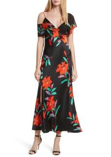 Diane von Furstenberg Asymmetrical Knotted Gown