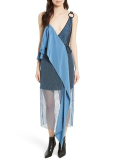 Diane von Furstenberg Asymmetrical Sash Dress