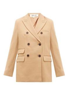 Diane Von Furstenberg Atlas crepe jacket