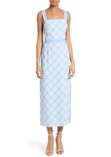 Diane von Furstenberg Backless Midi Dress