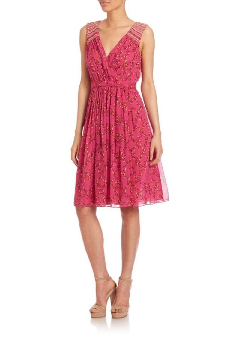 Diane von Furstenberg Bali Printed Silk Dress