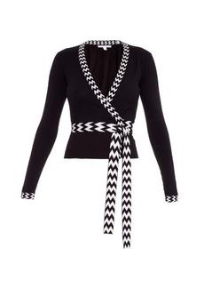 Diane Von Furstenberg Ballerina wrap cardigan