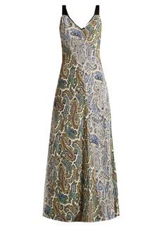 Diane Von Furstenberg Barton paisley-print silk dress