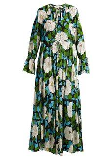Diane Von Furstenberg Bethany floral-print silk dress