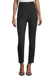 Diane von Furstenberg Blysse High-Waist Belted Pants