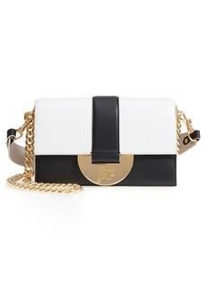 Diane von Furstenberg Bonne Journée Half Moon Leather Crossbody Bag