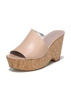 Diane von Furstenberg Bonnie Wedge Platform Slide Sandal
