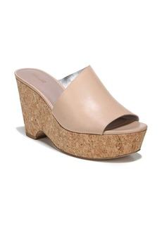 Diane von Furstenberg Bonnie Wedge Slide Sandal (Women)