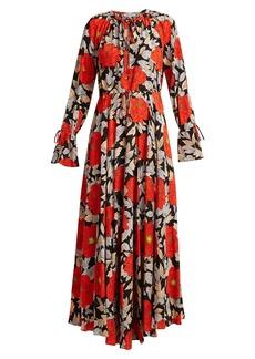 Diane Von Furstenberg Boswell floral-print silk dress