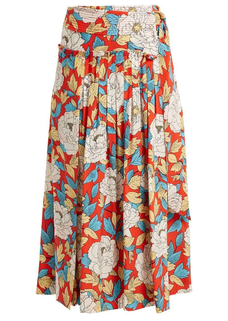 552eaaf25d Diane Von Furstenberg Diane Von Furstenberg Boswell floral-print ...
