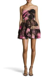Diane von Furstenberg Brighton Strapless Printed Dress